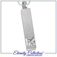 NEW! ECN26 Eternity Collection Cremation Jewellery 'Glimmer of Light' Necklace