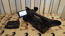 SONY HVR-Z1E DIGITAL HD VIDEO CAMERA RECORDER + CHARGEUR