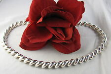 """Sterling Silver Italy 70g 18"""" Classic Necklace Feral Cat Rescue"""