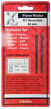 DEWALT 82MM TCT REVERSIBLE PLANER BLADES/KNIVES FOR -MAKITA-BOSCH-B&D-HITACHI