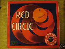 Red Circle oranges