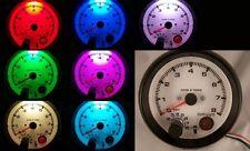 "3-3/4"" Tachometer Black with Shift Light Programmable 7 Color LED Backlight  NEW"