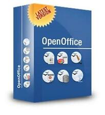 OPENOFFICE 2017 FOR MICROSOFT WINDOWS - WORD & EXCEL COMPATIBLE + FREE CONTENT