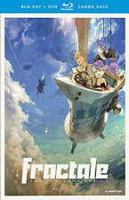 FRACTALE The Complete Series Blu-ray/DVD 4-Disc RARE JAPANESE ANIME Animation