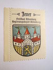 Jever / Reklamemarke Kaffee Hag - Wappen