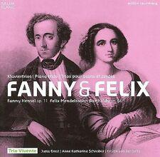 Hensel/Mendelssohn: Fanny & Felix- Piano Trios, New Music