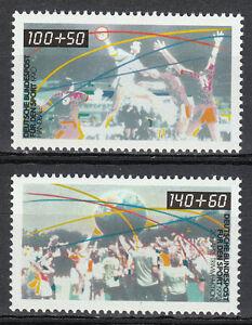 Germany 1990 Mi 1449-1450 Sc B687-B688 MNH Handball & fitness sport **