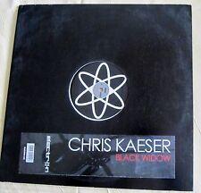 """Schallplatte Vinyl Maxi-Single Chris Kaeser """"Black Widow"""""""