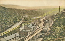 Eastwood Railway Station Photo. Hebden Bridge to Walsden and Cornholme Lines (1)