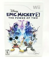 Disney Epic Mickey 2: The Power of Two Nintendo Wii Game