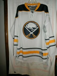 Buffalo Sabres Reebok NHL Jersey with Laces, Men's Size Large (L), NWT'S