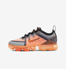 Nike Air VaporMax 2019 GS UK 3 - Eur 35.5 US 3.5Y - AJ2616 013 Grey/black/orange