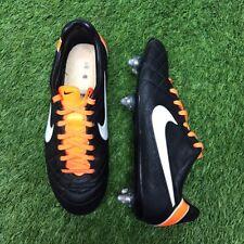 Nike Tiempo Legend Iv Elite Sg 453956-019 8 nos Carbono RARO