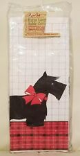 Vintage Scotty Scottie Dog Paper Tablecloth Party Holiday Paper Crest