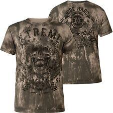 328c327e XTREME COUTURE BY AFFLICTION T-Shirt Oil Slick Grau T-Shirts
