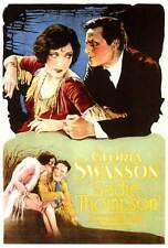 SADIE THOMPSON Movie POSTER 27x40 Gloria Swanson Lionel Barrymore Blanche