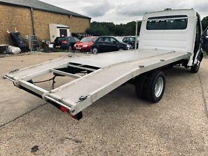 recovery truck body used Iveco daily aluminium body no rams no winch