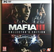 MAFIA 3 III COLLECTOR'S EDITION PC DVD NEW SEALED PAL UK ENGLISH COLLECTORS