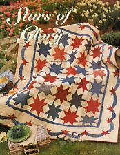 Stars Of Glory Quilt Pattern Pieced/Applique SB