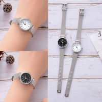 Women's Casual Quartz Small Dial Mesh Belt Watch Analog Wrist Watch Bracelet