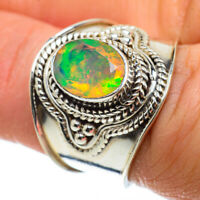 Ethiopian Opal 925 Sterling Silver Ring Size 7 Ana Co Jewelry R40950F