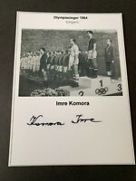 IMRE KOMORA Ungarn Olympiasieger 1964  signed Foto 10x14 Autogramm