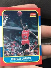 Michael Jordan 1986-1987 Fleer Basketball Rookie Rc Reprint? Chicago Bulls Nba