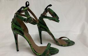 Aquazzura 40 Phython Heels