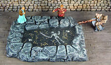Painted Cavern Pool of Gold or Death - Works with Dwarven Forge and DnD D&D