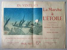 HENRI RIVIERE gravure lithographie 1896 la marche à l'étoile georges fragerolle