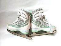 Fila Donna F 11 green Eiskunstlauf - Damen - Gr. 36 Schlittschuh Softboot