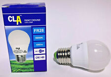 LED Fancy Round 6w 240v ES 5000K Cool White Frosted - 490 Lumen - Dimmable
