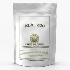 ALA 250 Kapseln  á 250 mg - Alpha Liponsäure Antioxidantien  - Anti Aging