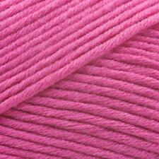 King Cole BAMBOO Cotton DK Knitting Wool / Yarn 100g - 536 Fuchsia