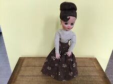 Vintage 1950s Dollikin 19 inches Doll by Uneeda - All Original