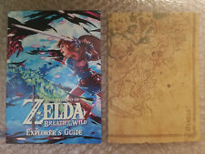 Legend of Zelda Breath of the Wild Explorer's Edition Map & Guide ONLY NO GAME
