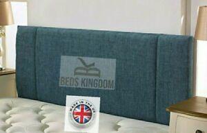 NEW BED HEADBOARD SIDE PANEL DESIGN CHENILLE HANDMADE BEST QUALITY UK 🇬🇧 BRAND