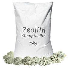 Zeolith 25 kg Filtermaterial Phosphatbinder Zeolite Zeolit Koi Garten Teich