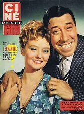 Coupure de presse Clipping 1958 Poster Fernandel & Simone Valere 26 x 33