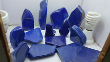 7800gm  top quality W/ no calcite Lapis Lazuli Royal Blue Preform tumble crystal