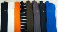 LACOSTE Lot of 8 Men's Short Sleeve Cotton Polo/T-Shirts 6, US XL
