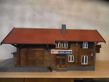"RhB Bahnhof  "" DAVOS - GLARIS ""  als Fertigmodell  1 : 22.5"
