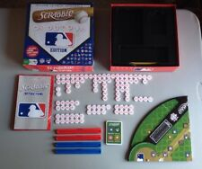 HASBRO SCRABBLE MAJOR LEAGUE BASEBALL EDITION - COMPLETE