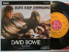 DAVID BOWIE BOYS KEEP SWINGING / JAPAN 7INCH
