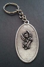 Guardian Angel Key Chain Car Driving Auto Safe Automobile Bike Motorcycle Silver