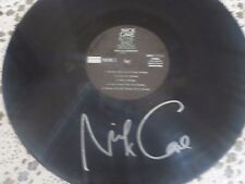 NICK CAVE SIGNED LIVE IN GERMANY VINYL RECORD W/COA