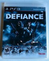 Defiance (Sony PlayStation 3, 2013) ps3 Complete w/ Manual