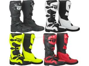 Fly Racing Maverik MX Riding Boots Adult, Youth, Kids Sizes Motocross Dirt Bike
