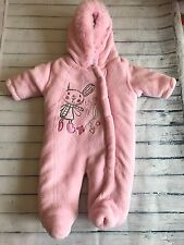 Baby Girls Clothes Newborn - Cute Soft Girl Snowsuit Pramsuit All in One -
