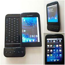 HTC Dream g1-Schwarz (T-Mobile). weltweit erste Android Smartphone 2008